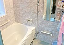 浴室、洗面、エコキュート工事