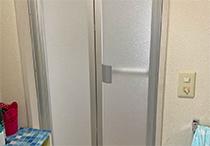 浴室折戸交換工事
