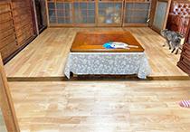 床貼り工事