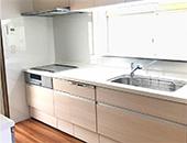 キッチン、浴室、洗面改装