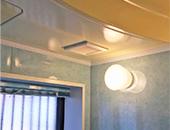 洗面所、浴室暖房換気扇取付
