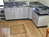 トイレ洗面キッチン床工事