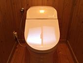 トイレ取替え