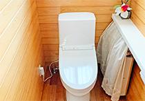 トイレ、エコキュート工事