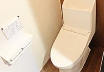 トイレ、エコキュート、洗面化粧台交換工事