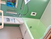 浴室交換、脱衣場内装張替え、トイレ交換工事