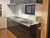 トイレ、システムキッチン改装工事