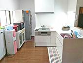 キッチン、トイレ改装工事